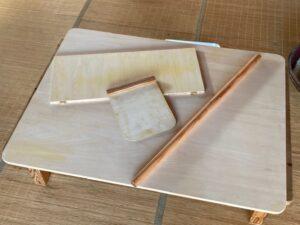 蕎麦打ち道具 自作